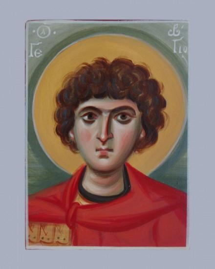 Оплечный образ Святого Георгия Победоносца